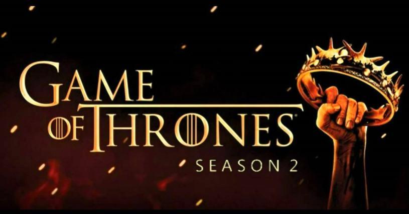 Game of Thrones segunda temporada