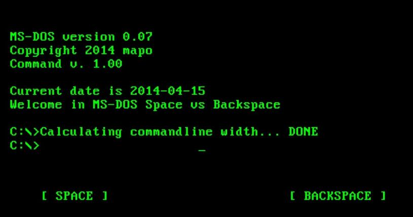 dos 1.0 assembly