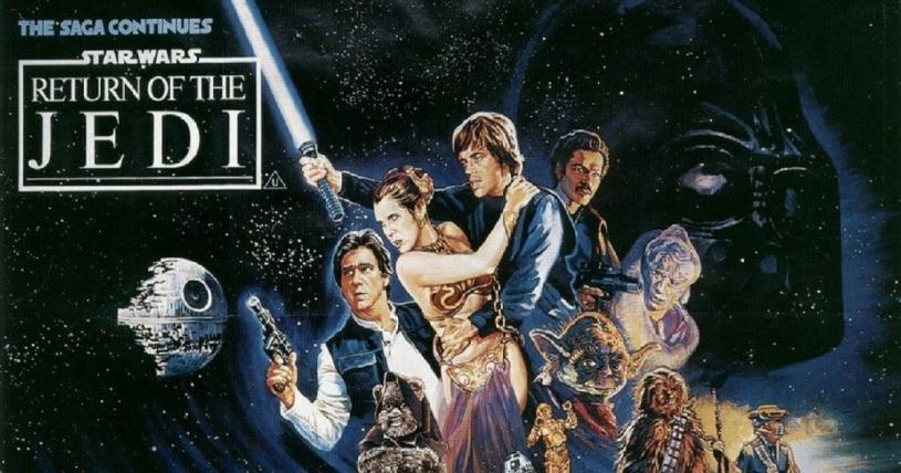 star wars episode VI - return of jedi - episódio VI - o retorno de Jedi
