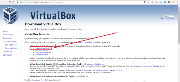 virtual box - assembly