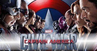 Captain America Civil War - Capitão América Guerra Civil