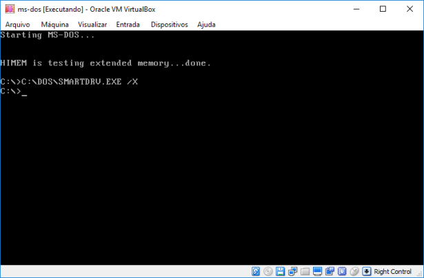 oracle virtual box - assembly