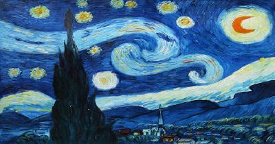 a noite estrelada - Vincent van Gogh - 1889