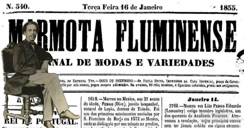 A Palmeira - Machado de Assis - Marmota Fluminense - 1855