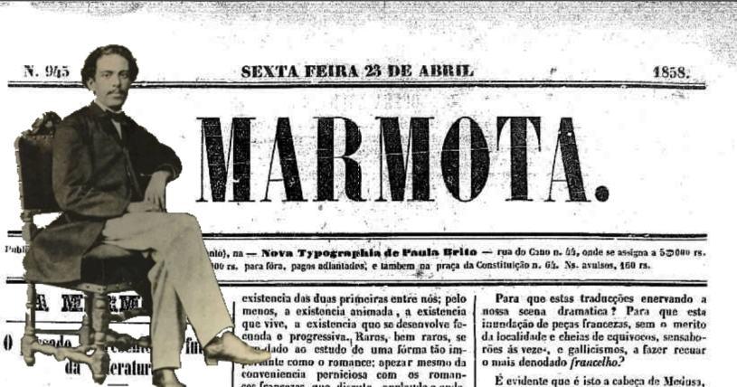 O passado, o presente e o futuro da literatura - Machado de Assis