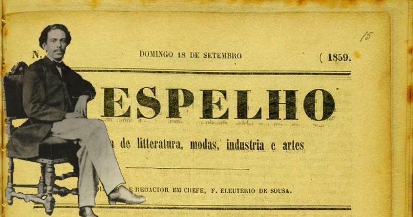 Os Imortais - Machado de Assis - O Espelho - 1859